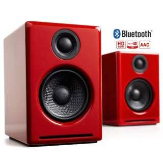 ブルートゥース スピーカー ハイグロス・レッドペイント [Bluetooth対応]