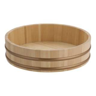 天然木 盛込桶 (樹脂タガ仕様) 尺1 30008 <NMLB503>