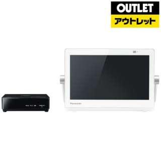 【アウトレット品】 UN-10CN9W ポータブルテレビ プライベート・ビエラ ホワイト [10V型 /防水対応] 【生産完了品】