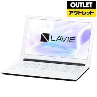 【アウトレット品】 15.6型ノートPC [Win10 Home・Celeron・HDD 500GB・メモリ 4GB・Office] LAVIE Note Standard  PC-NS100H2W-H4 ホワイト 【生産完了品】
