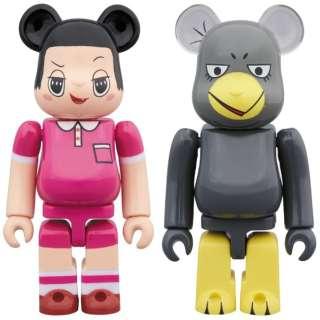 BE@RBRICK チコちゃん & キョエちゃん 2PACK 【発売日以降のお届け】