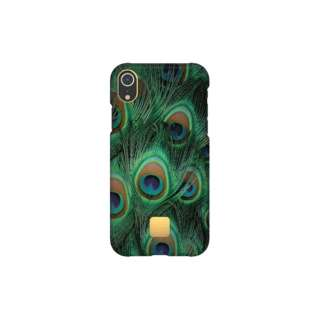 [iPhone XR専用]スリムケース IPHONE XR CASE PEACOCK9352 ピーコック