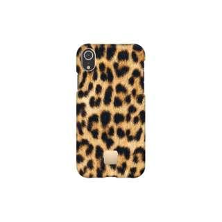 [iPhone XR専用]スリムケース IPHONE XR CASE LEOPARD9355 レオパード