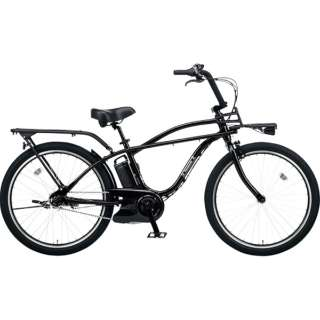 26型 電動アシスト自転車  BP02(ジェットブラック/内装3段変速) BE-ELZC632B【2019年モデル】