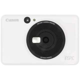 インスタントカメラプリンター iNSPiC CV-123-WH ホワイト