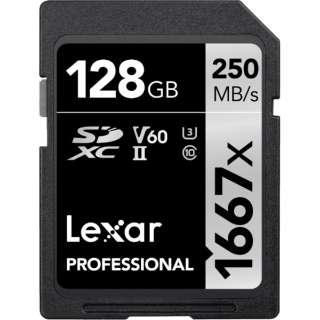 SDXCカード Lexar Professional LSD128CBJP1667 [128GB /Class10]