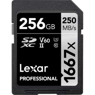 SDXCカード Lexar Professional LSD256CBJP1667 [256GB /Class10]