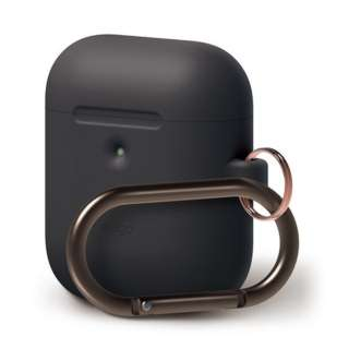 elago AIRPODS HANG CASE for AirPods 2nd Generation Wireless Charging Case for AirPods 2nd Wireless (Black) EL_A2WCSSCHW_BK