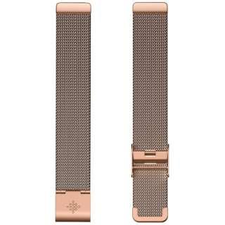 Fitbit  Inspire/InspireHR 専用 ステンレスメッシュバンド RoseGold ローズゴールド FB169MMRG ローズゴールド