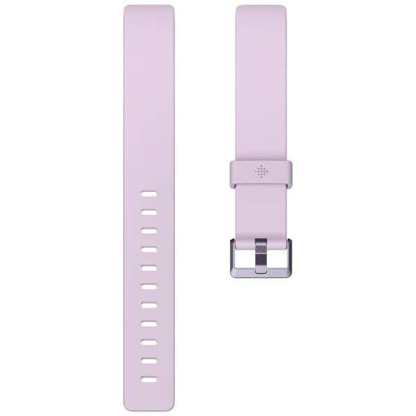 Fitbit  Inspire/InspireHR 専用 クラシックリストバンド Lilac ライラック Sサイズ FB169ABLVS ライラック