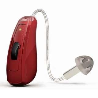 【店舗販売限定】 【デジタル補聴器】リンクス クアトロ7 充電式 RE761-DRWC(耳かけ型/モンツァレッド)