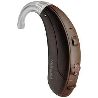 【店舗販売限定】 【デジタル補聴器】ベア3 80タイプ VE380-DVI(耳かけ型/ダークブラウン)