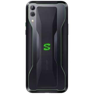 Black Shark2 シャドーブラック「SKW-H0_JP_SBK」6.39型 Snapdragon 855 メモリ/ストレージ:12GB/256GB nanoSIM x2 DSDV対応 ドコモ/ソフトバンク対応 液冷ゲーミングSIMフリースマートフォン