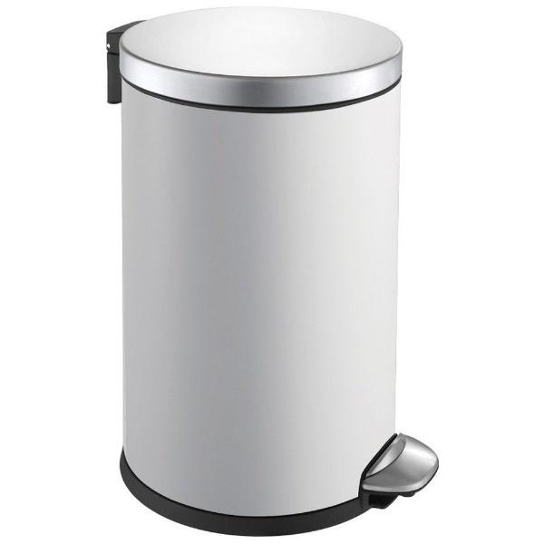 EKO EK9219P-3L-ホワイト ルナステップビン ごみ箱 3L ゴミ箱