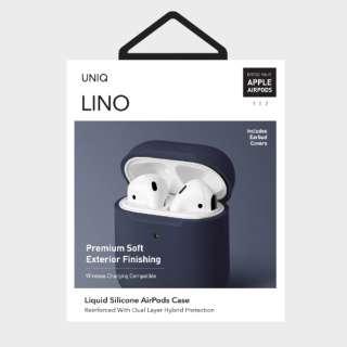 LINO Liquid Silicone AirPods Case BL
