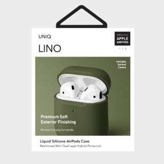 LINO Liquid Silicone AirPods Case GR