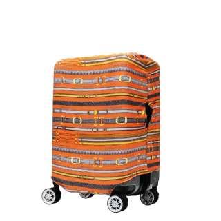 スーツケースカバー 9101-M-PARIS オレンジベルト