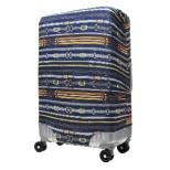 スーツケースカバー 9101-M-LONDON ネイビーベルト