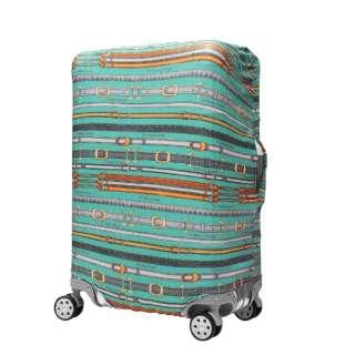 スーツケースカバー 9101-L-TRAVEL グリーンベルト