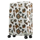 スーツケースカバー 5102-49-CB ホワイトステッカー