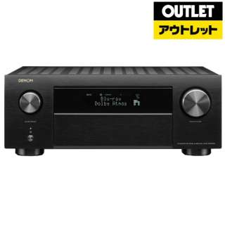 【アウトレット品】 AVアンプ [ハイレゾ対応 /Bluetooth対応 /Wi-Fi対応 /ワイドFM対応 /9.2ch /DolbyAtmos対応] AVR-X4500H  ブラック 【外装不良品】