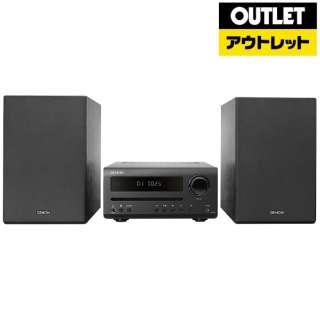 【アウトレット品】 CDレシーバーシステム [ワイドFM対応 /Bluetooth対応 /ハイレゾ対応]  D-T1K ブラック 【再調整品】