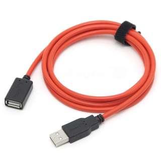 超高速充電USB延長用150cmケーブル RC-UHCE15R レッド