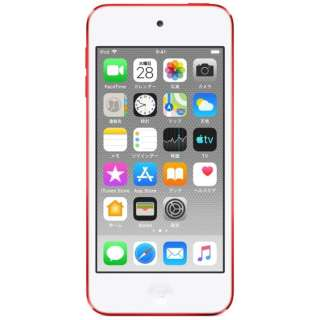 iPod touch 【第7世代 2019年モデル】 128GB  (PRODUCT)RED MVJ72J/A