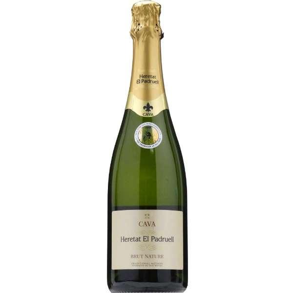 [高品質スパークリングワイン] エレタット・エル・パドルエル ブリュット・ナチューレ 750ml【スパークリングワイン】