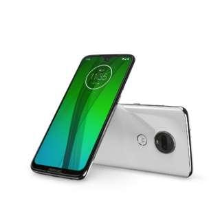 Moto g7 クリアホワイト「PADY0001JP」Snapdragon 632 6.24型ワイド メモリ/ストレージ:4GB/64GB nano SIM x2 DSDS対応 ドコモ/au/ソフトバンク対応 SIMフリースマートフォン PADY0001JP クリアホワイト