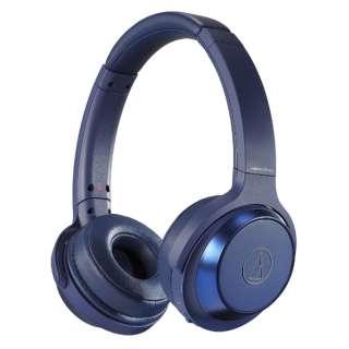 ブルートゥースヘッドホン ブルー ATH-WS330BT BL