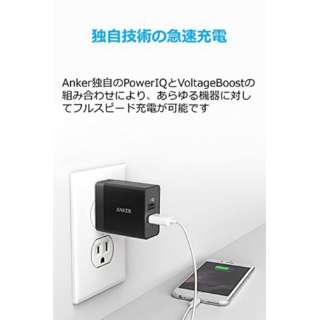 Anker PowerPort 2 Eco black A2129512