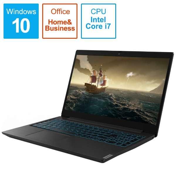 81LK001DJP ゲーミングノートパソコン ideapad L340 Gaming i7 GTX1050 Office ブラック