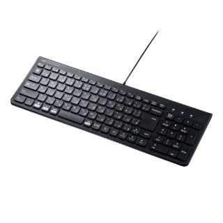 USBスリムキーボード SKB-SL31BK ブラック [USB /有線]