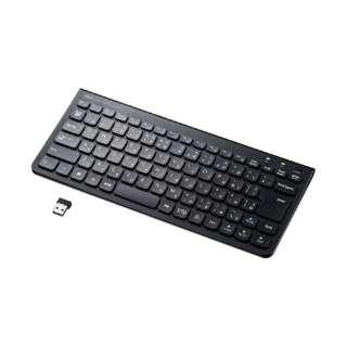 ワイヤレススリムキーボード SKB-WL32BK ブラック [USB /ワイヤレス]