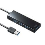 USB-3H420BK USBハブ ブラック [USB3.1対応 /4ポート /セルフパワー]