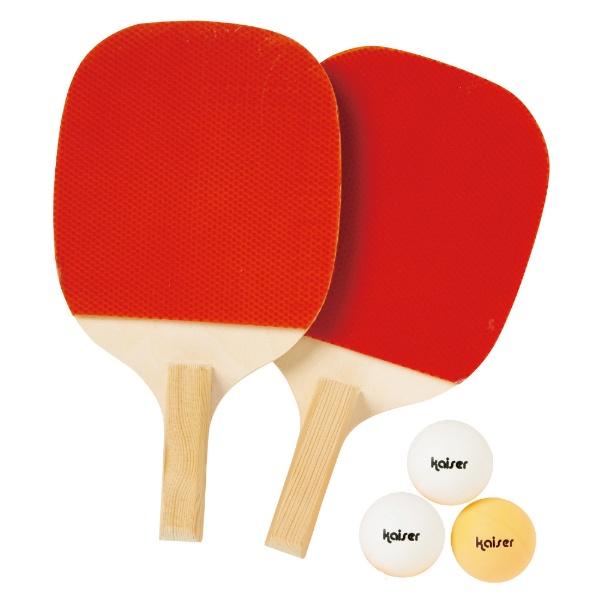カイザー 卓球 ラケット セット ペンホルダー KW-014 ボール付 練習用