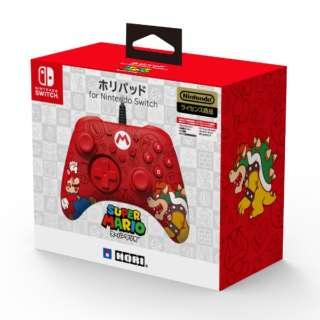 ホリパッド for Nintendo Switch スーパーマリオ NSW-188 【Switch】