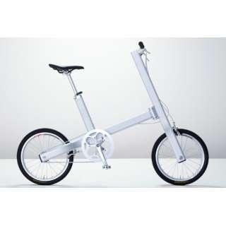 18型 自転車 MINDBIKE マインドバイク 完成車キット(シルバー/シングルシフト)【要組み立て品】