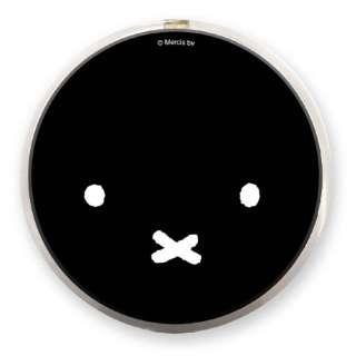 ミッフィー Qi ワイヤレスチャージャー ブラック