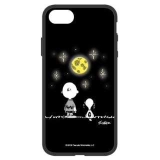 ピーナッツ iFlash iPhone8/7/6s/6対応ケース 夜空