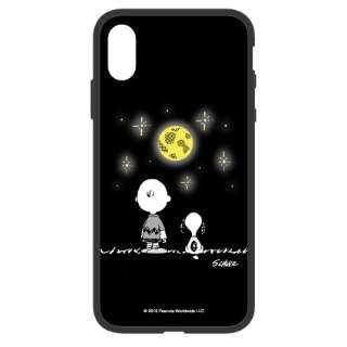 ピーナッツ iFlash iPhoneXR対応ケース 夜空