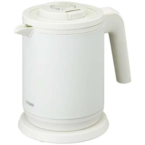 蒸気レス電気ケトル わく子 マットホワイト PCK-A080-WM