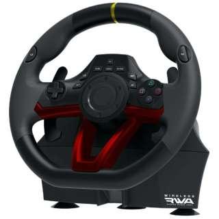 ワイヤレスレーシングホイールエイペックス for PlayStation4/PC PS4-142 【PS4】