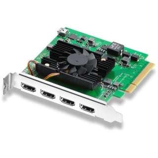 〔キャプチャーボード〕 DeckLink Quad HDMI Recorder BDLKDVQDHDMI4K