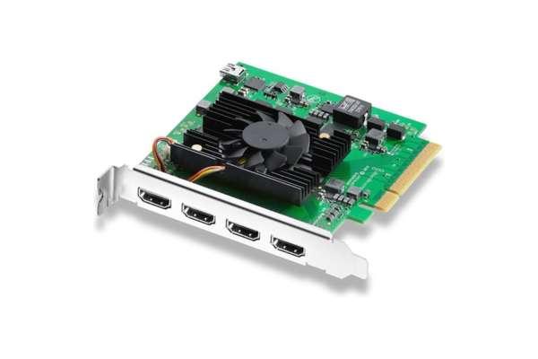 BlackmagicDesign「DeckLink Quad HDMI Recorder BDLKDVQDHDMI4K」BDLKDVQDHDMI4K