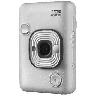 ハイブリッドインスタントカメラ 『チェキ』 instax mini LiPlay ストーンホワイト