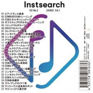 (BGM)/ Instsearch CD No.3 DANCE Vol.1 【CD】