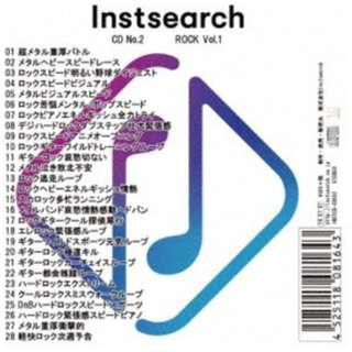 (BGM)/ Instsearch CD No.2 ROCK Vol.1 【CD】