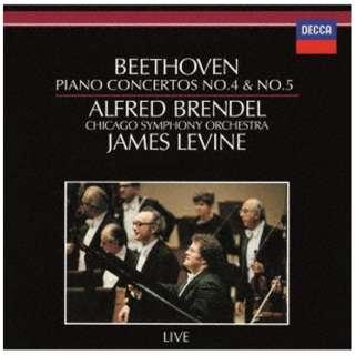 アルフレッド・ブレンデル(p)/ ベートーヴェン:ピアノ協奏曲第4番・第5番≪皇帝≫ 生産限定盤 【CD】